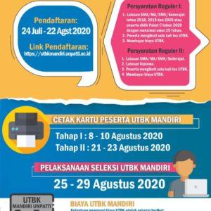 UTBK MANDIRI 2020